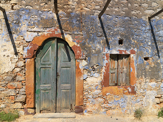 Abandoned Homes. Lithi, Chios