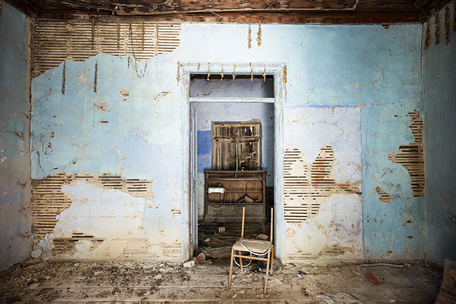 Abandoned Lives 4. Exo Didima, Chios.