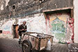 Essaouira - Life in the Medina. Handcart.