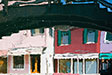 Burano, Venice. Colourful Houses.