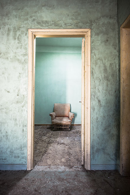 Abandoned Lives 4. Photographs by Keith Laban.
